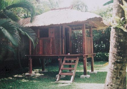 Tropical single room bungalow kits for Tropical kit homes