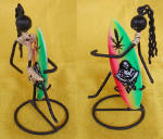 iron handicraft surf by art export bali indonesia